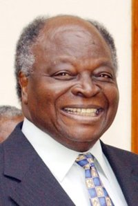 President Mwai Kibaki: asleep at the wheel