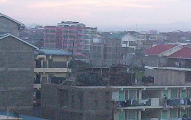 Part of the fast growing Umoja Innercore suburb of Nairobi.