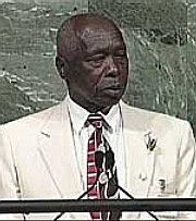 Daniel arap Moi. Picture by CNN.