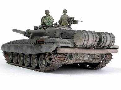 The Russian built T-72 tank can run on three types of fuel: diesel, benzene or kerosene.