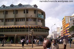 The Savoy Building at Tom Mboya – Ronald Ngala intersection, seen here in better times.