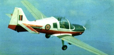 Kenya Airforce has used this Bulldog training aircraft for over 30 years.