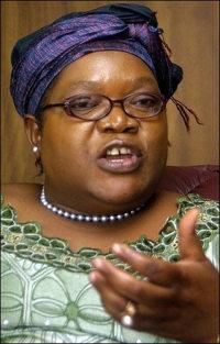 Zimbabwe Vice President Joyce Mujuru: Links with diamond smuggling