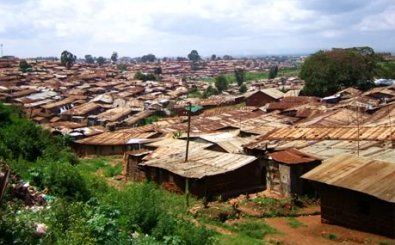 The slums of Kenya provide a fertile recruiting ground for Mungiki. Picture by Kibera Slum Foundation